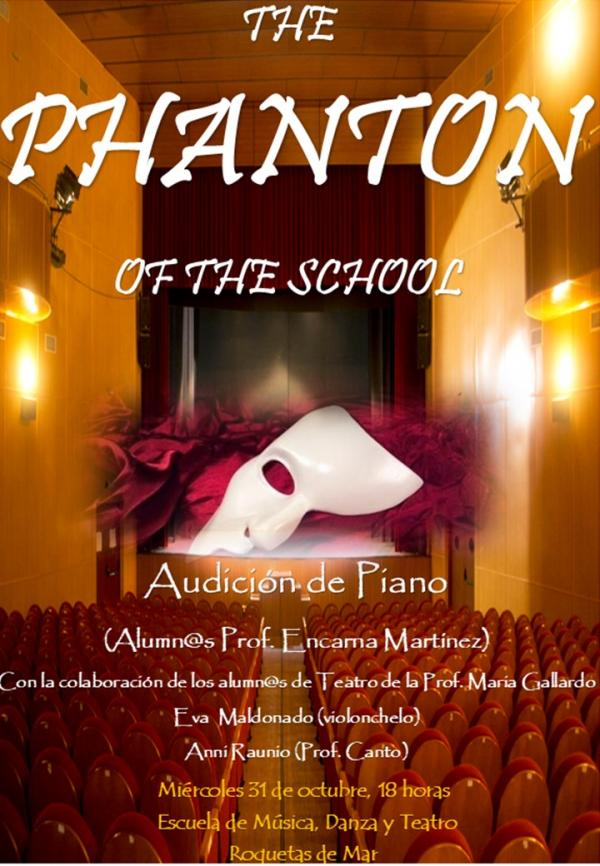 THE PHANTON OF THE SCHOOL