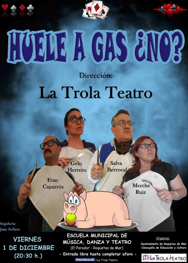 HUELE A GAS, ¿NO?